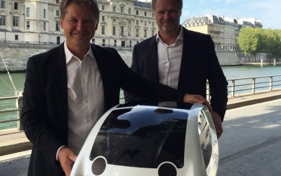 The smart city to the SeaBubbles