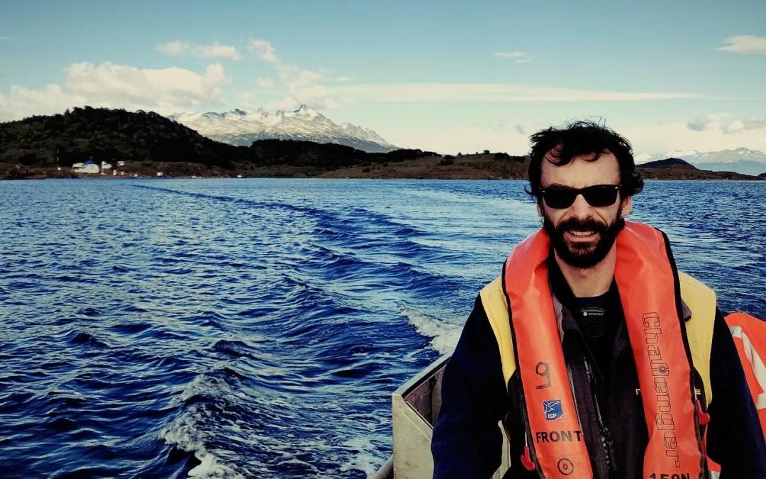 Voyage à bord du navire câblier René Descartes d'Orange Marine en Patagonie Chilienne